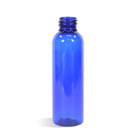 04 oz Blue Bullet Plastic Bottle - 20/410