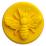Honeybee Small Round Soap Mold (MW 156)
