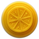 Citrus Small Round Soap Mold (MW 154)