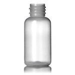 01 oz Natural LDPE Boston Round Bottle - 20/410