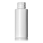 2 oz. White HDPE Cylinder Bottle, 24-410
