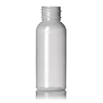 2 oz. Natural HDPE Vogue Round Bottle, 24-410
