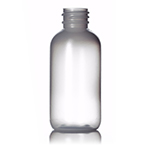 02 oz Natural LDPE Boston Round Bottle - 20/410