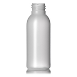 3 oz. Natural HDPE Imperial Round Bottle, 24-410