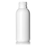 3 oz. White HDPE Imperial Round Bottle, 24-410