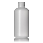 4 oz. Natural HDPE Boston Round Bottle,  24-410
