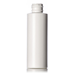 4 oz. White HDPE Cylinder Bottle, 24-410