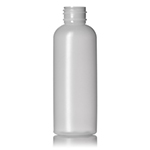 4 oz. Natural HDPE Vogue Round Bottle, 24-410