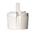 White PP Dispensing Lid, 20-410